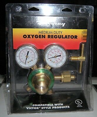 Forney 87090 Medium Duty Oxygen Regulator Compatible With Victor Style Products