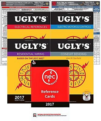 Ugly's References, NEC Quick Cards & Reference Cards Based on NEC 2017 Editions