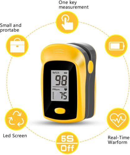 Aparato Dispositivo Para Medir El Oxigeno Oximetro De Pulso De Dedo Preciso