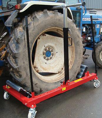 Farm Tractor Tire Heavy Duty 2600 Lb. Capacity Portable Wheel Dolly