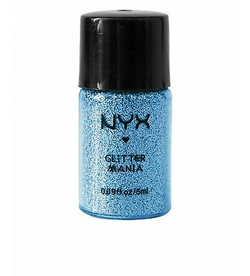 Nyx Glitter - NYX Glitter Powder For Eyes, Face & Body color GP01 Blue Brand New SEALED