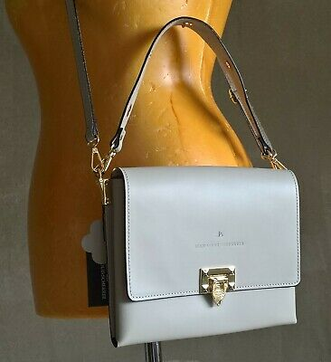 "Jean Louis Scherrer ''Tessa"" grey bag (3 in 1)"