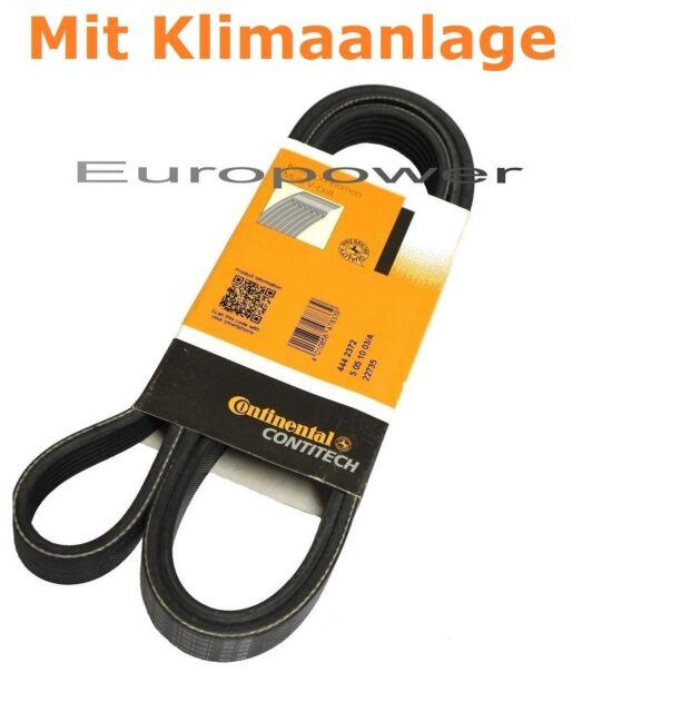 Conti V-Ribbed Belt VW GOLF III IV 1.4 1.6 1.8 2.0 6PK1153 NEW