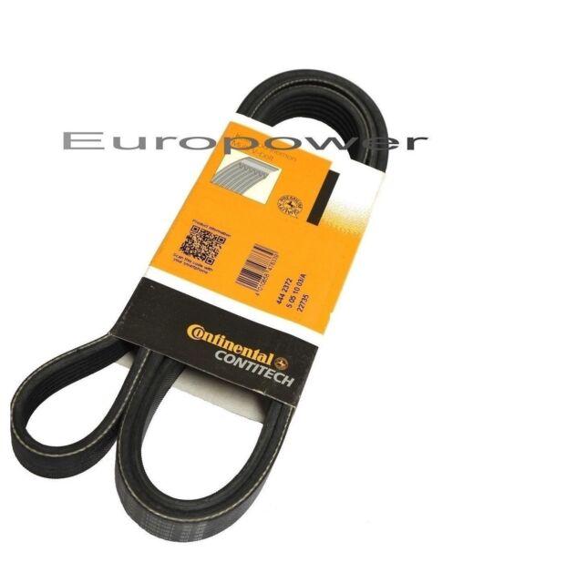 Conti V-Ribbed Belt Mercedes 190 Coupe Estate Notchback T1 W201 S124 W124
