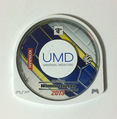 USED PSP Disc Only World Soccer Winning Eleven 2013 JAPAN PlayStation Portable