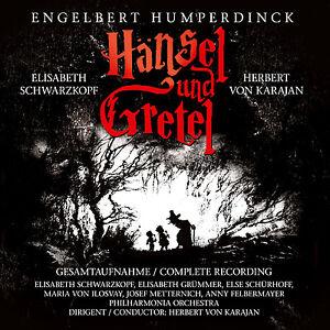 CD Hänsel und Gretel von Engelbert Humperdinck   2CDs mit Herbert von Karajan