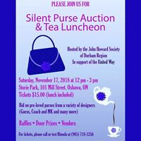 Silent Purse Auction and Tea Luncheon