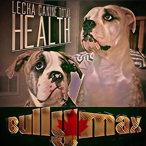 BULLY MAX Canadian Distributer - Lecka Canine Total Health