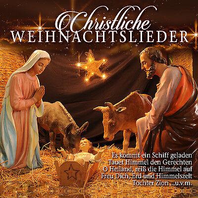 CD Christliche Weihnachtslieder von Nymphenburger Kinderchor und anderen (Kinder, Christliche Musik)