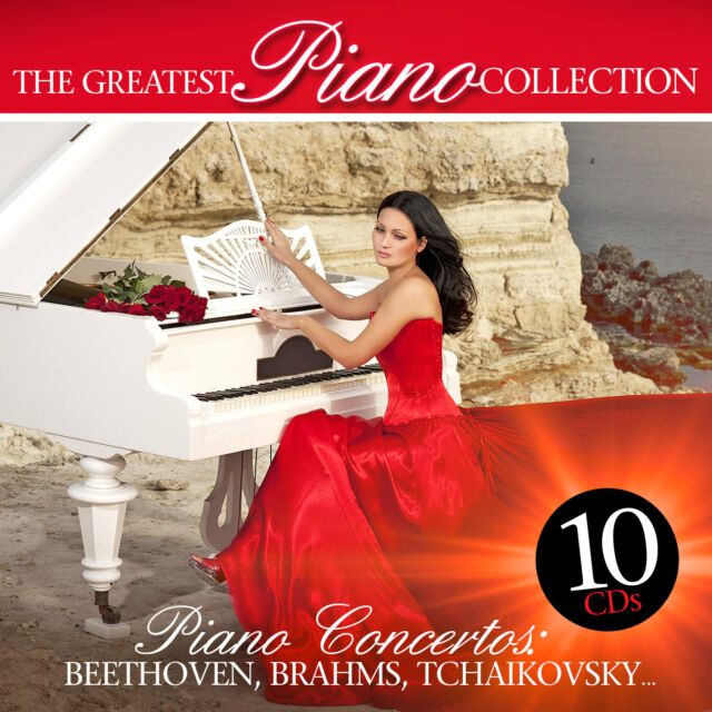 CD The Greatest Piano Collection 10CDs Beethove, Brahms, Tchaikovsky