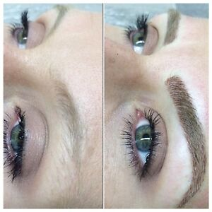 Microblading / feathered hair stroke 3D brows tattoo treatment Cremorne Point North Sydney Area Preview