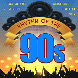 CD Rhythm Of The 90s From Various Artists 2CDs With Ace of Base, 2 Unlimited