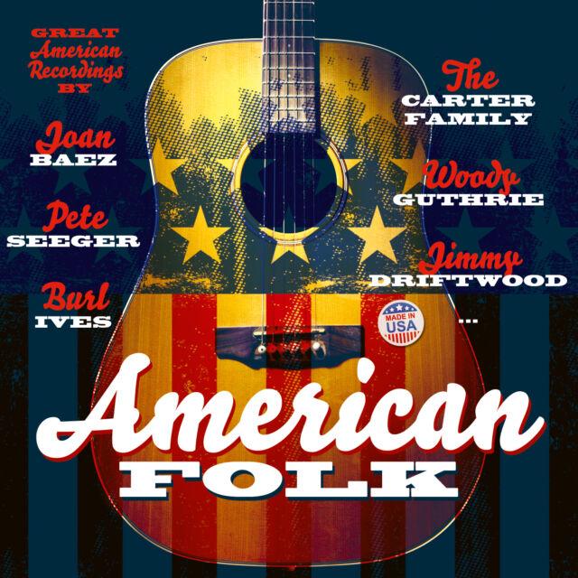 CD American Folk von Various Artists 2CDs  incl Joan Baez, Jimmie Driftwood
