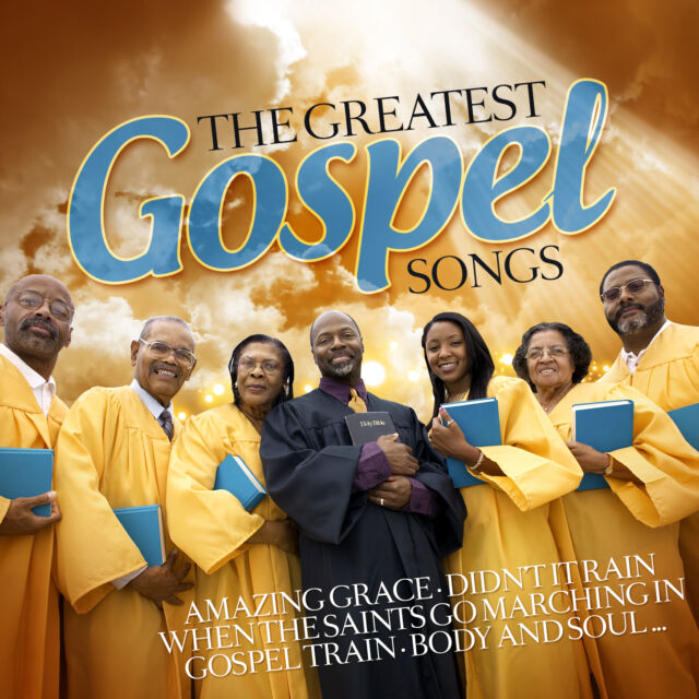 CD The Greatest Gospel Songs von Various Artists