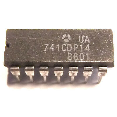 Ua741cdp Ic General-purpose Single Op-amp Dip 14 Thomson