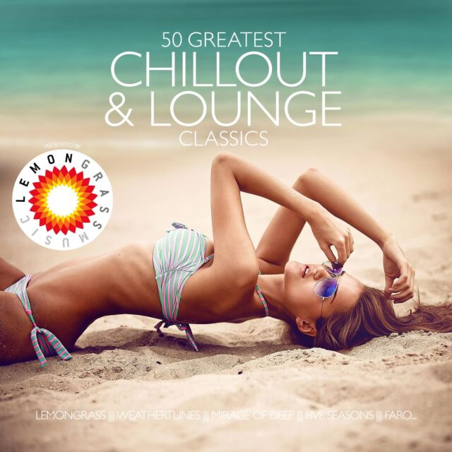 CD 50 Greatest Chillout & Lounge Classics von Pres. By Lemongrass  3CDs