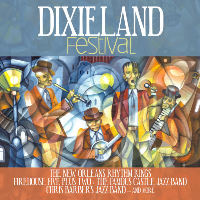 CD Dixieland Festival von Various Artists mit Chris Barber und Firehouse Five