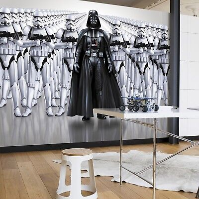Star Wars Wall Mural photo Wallpaper 368x254cm Imperial Force NO ADHESIVE