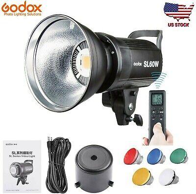 Godox SL 60W 5600K Studio Photography LED Video Light Lighting for DV Camera