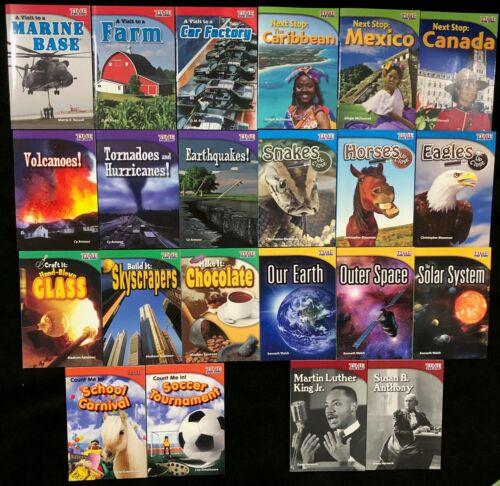 2nd Grade - TIME FOR KIDS (SOCIAL STUDIES & SCIENCE) 22 Nonfiction Reader Books