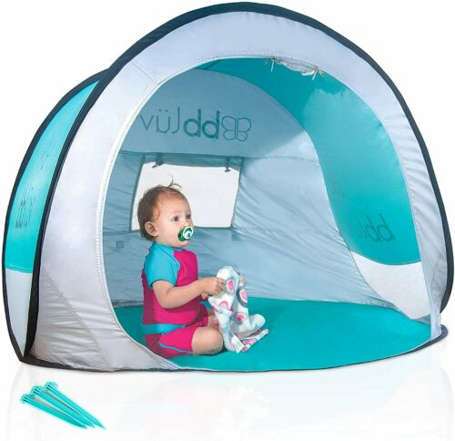 bblüv Sunkitö Pop Up Play Tent Canopy Sun Shelter Mosquito Net For Infant Baby