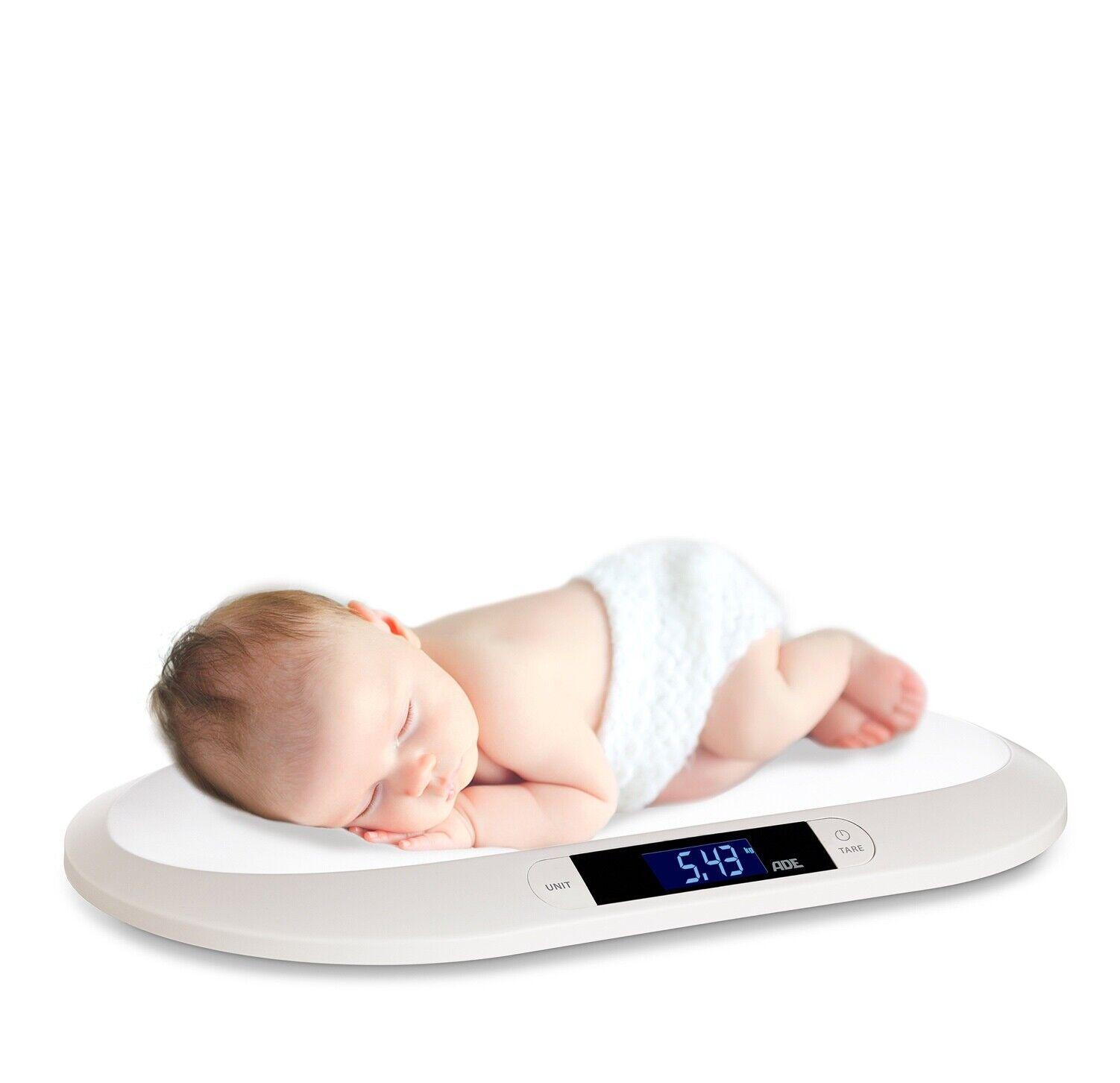 GRUNDIG Babywaage digitale Baby Waage 20 kg Säuglingswaage Stillwaage Tierwaage