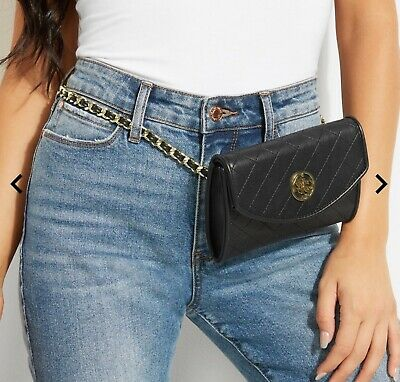 Guess Alexa chain belt bag Marciano jeans shoes jacket Shoes Belt Bag