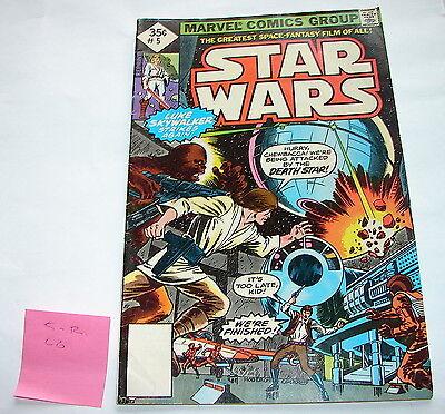 Star Wars comic book Marvel #5 C-6  diamond  reprint-  70's 80's vintage  1015