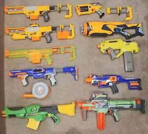 Assorted Nerf Guns (9 Guns)