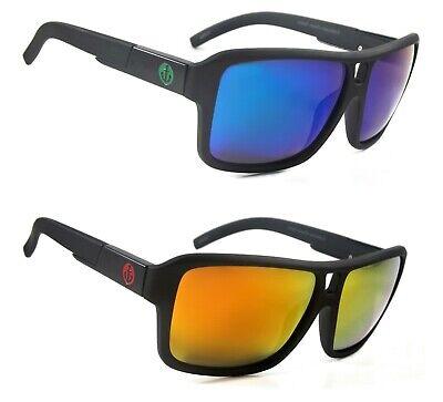NWT Theron Retro Polarized Sunglasses Large Frame Mirror (Large Retro Mirror)