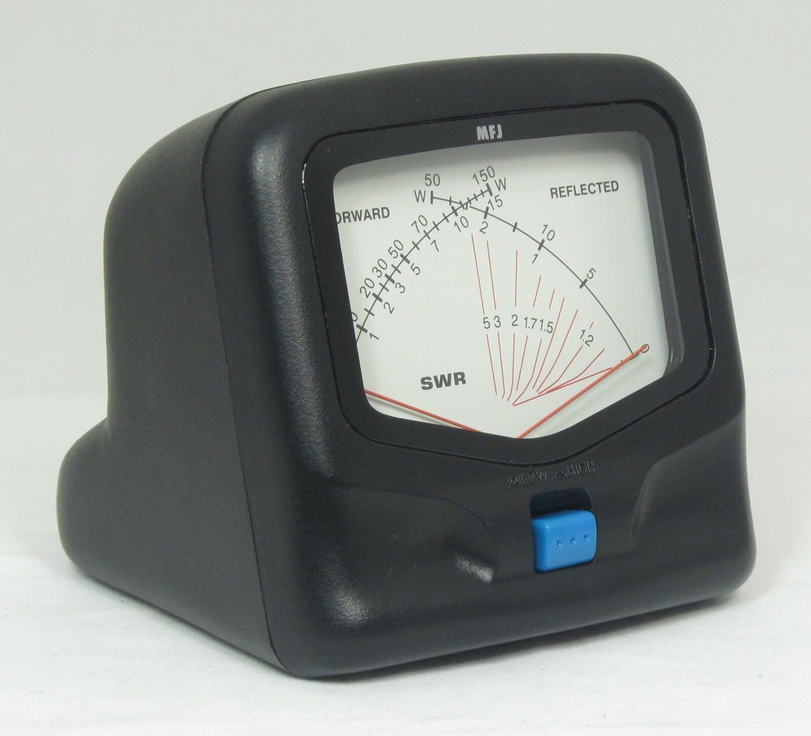 how to read cross needle swr meter