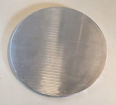 516 Aluminum Plate Round Circle Disc 6.5w 16ozs