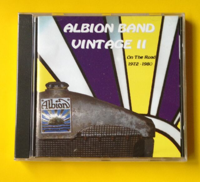 Albion Band Vintage II On The Road 72-80 CD NEW SEALED