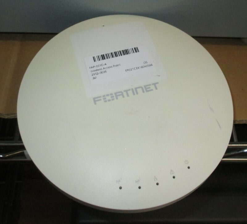 FORTINET FAP-221C-A Wireless Access Point - No AC adapter