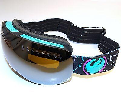 Dragon APXs Goggles-Gigi No Brainer/Jet Ionized & Yellow-Blue Ion Lenses & (Dragon Apx Lenses)