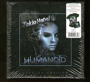 TOKIO-HOTEL-HUMANOID-Special-Edition-Camiseta-Chica-Talla-S-Girl-T-shirt