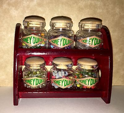 Candy Shop Jars Rack Dollhouse Miniature Harry Potter Honeydukes Halloween ()