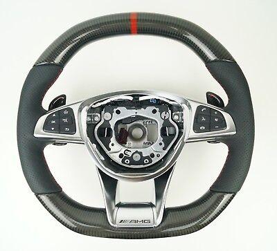 LE TEF® CARBON LENKRAD VEREDELUNG FÜR MERCEDES-BENZ AMG W205 GTS W222 C217 W447