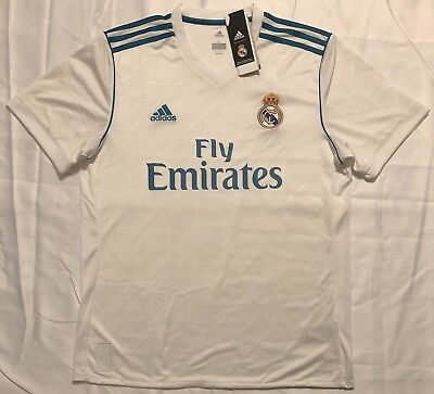 94df7f25a Adidas Real Madrid Home Soccer Jersey Adult Size  Large