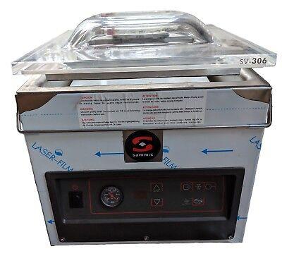 Sammic Sv-306t Chamber Vacuum Sealer - Retort- Sous Vide- Food Storage