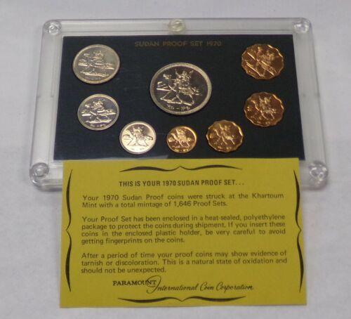 1970 SUDAN 9 Coin Proof Set