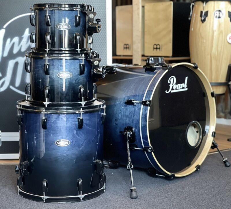 Pearl Drum Kit Vision Birch Black Hardware #664