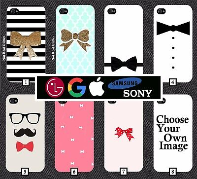 Bow Tie Phone Case Cover Suit Funny James Bond Prom Wedding Best Man Groom