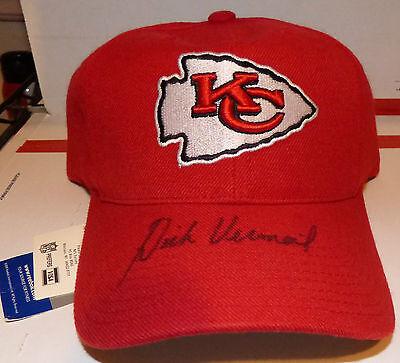 Dick Vermeil Autograph Hat Signed Kansas Cith Chiefs Baseball Cap AUTO NWT