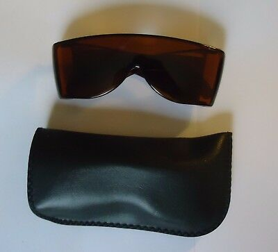 Solar Shield Sunshades fits over regular spectacles, 2 pair Brand (Sunglasses Fit Over Regular Glasses)