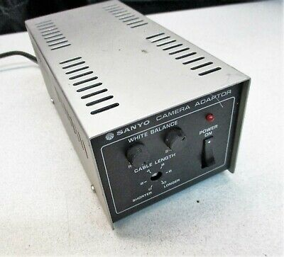 Used, Sanyo VCC 3700 Color CCTV Camera Adaptor for sale  Shipping to India