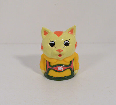 "RARE 1995 Huckle Cat 1.75"" Dairy Queen Action Figure Busytown Richard Scarry"