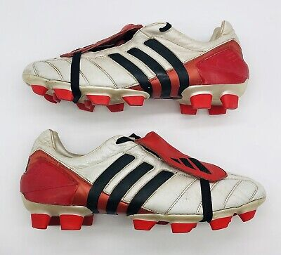 2002 ADIDAS PREDATOR MANIA FIRM GROUND SCORG UK SIZE 9 US 9.5 FOOTBALL BOOTS