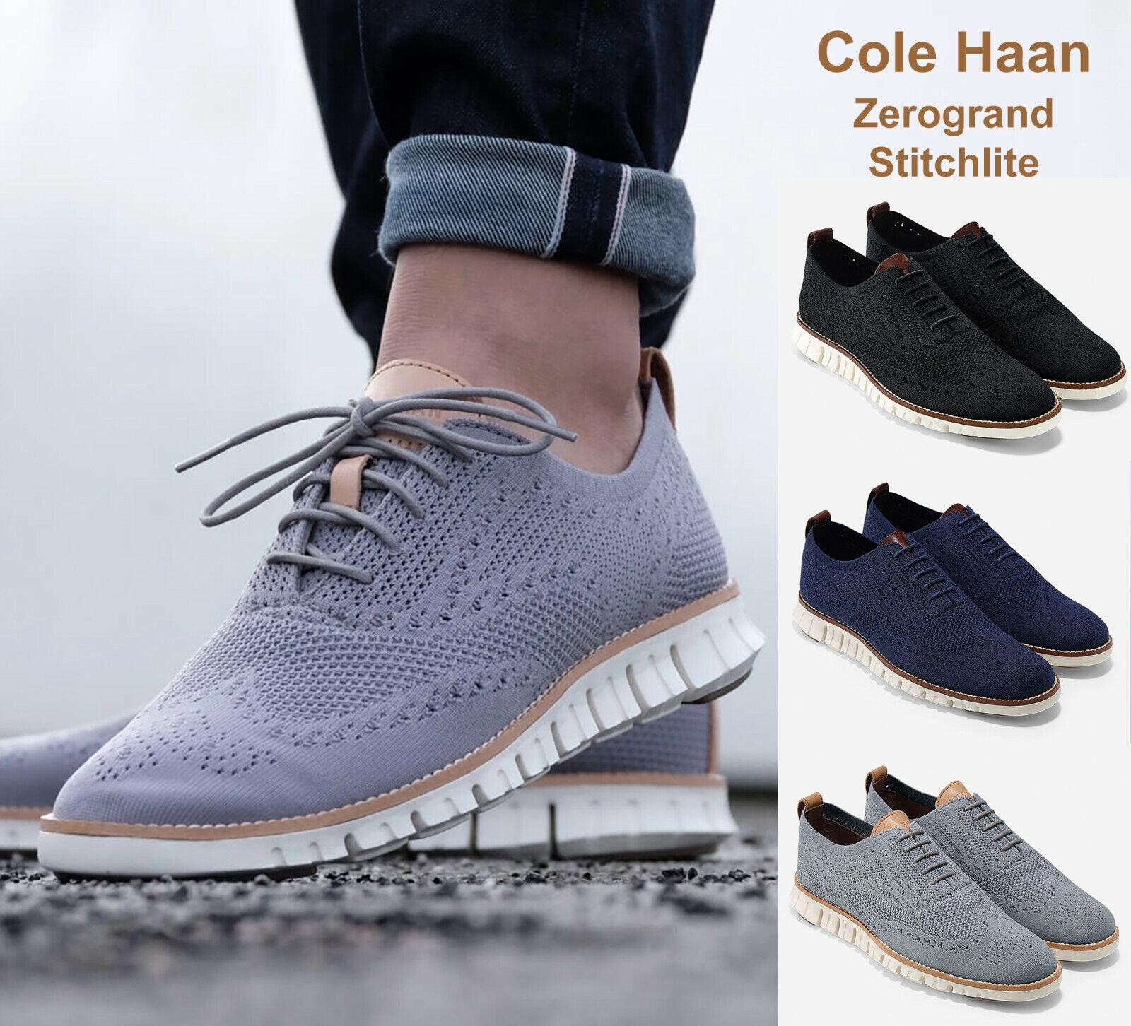 Cole Haan Ironstone Zerogrand Wingtip