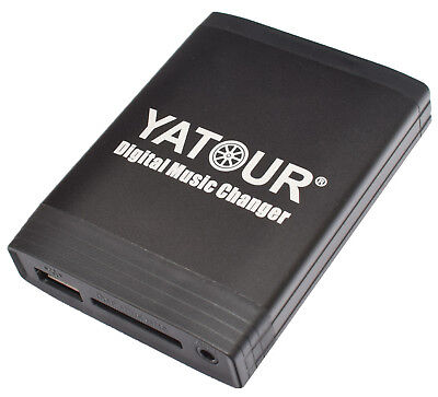 Yatour USB SD AUX MP3 Adapter BMW E46 E39 E38 E53 E83 Z4 für 16:9 BM24 BM54